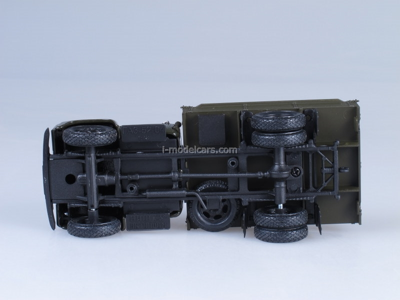 GAZ-52-04 green 1:43 Nash Avtoprom