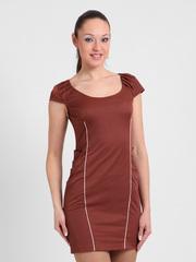 1789 сарафан женский, коричневый