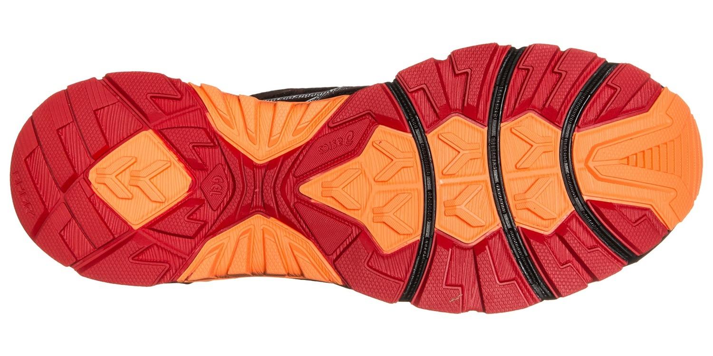 Мужские кроссовки внедорожники Asics Gel-Fujitrabuco 4 (T5L1N 2393) красные фото