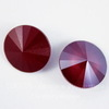 1122 Rivoli Ювелирные стразы Сваровски Crystal Dark Red (12 мм)