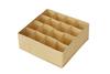 Органайзер  32х32х11, 16 ячеек, Minimalistic, Minimalistic Sand