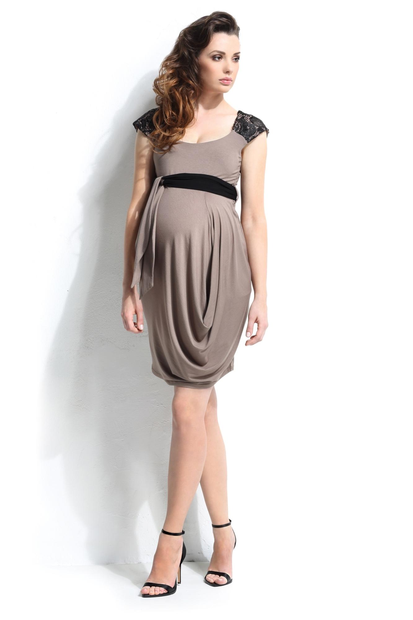 Платье 05391 коричневый
