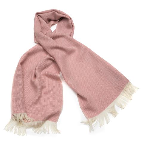 Плед-шарф шерстяной AM Paris Constance розовый