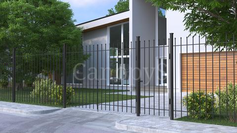 Сварной забор и ворота