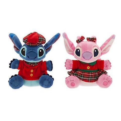Игрушка Ангел (Angel) и Стич (Stich) в нарядной одежде - Лило и Стич, Disney