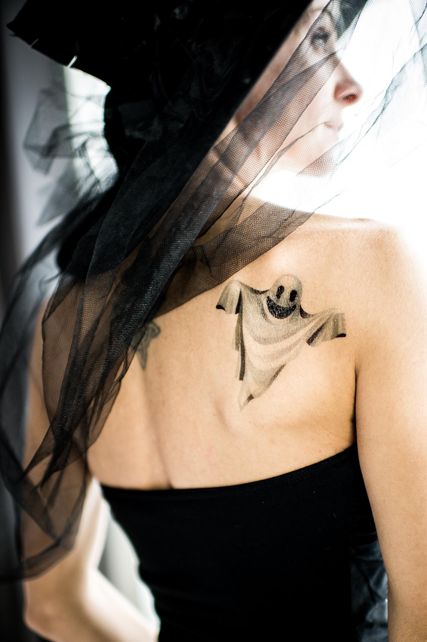 Переводная татуировка Ghost