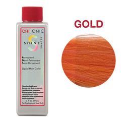 CHI Ionic Shine Shades Liquid Color GOLD (Цветная добавка Золото) - Жидкая краска для волос