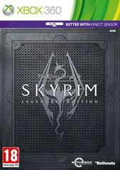 Xbox 360 The Elder Scrolls V: Skyrim - Legendary Edition (с поддержской MS Kinect) (английская версия)