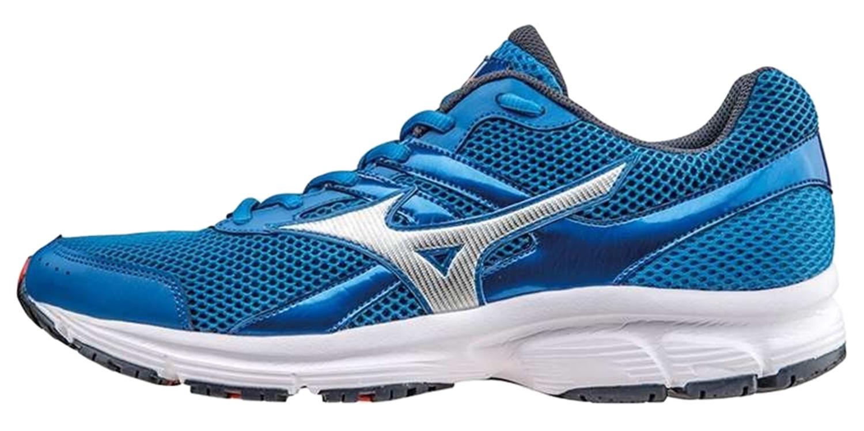 Спортивные кроссовки начального уровня для мужчин Mizuno Spark (мизуно спарк) синие фото