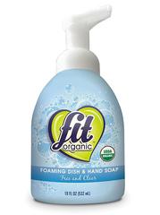 Органическая пенка для мытья посуды и рук, Fit Organic