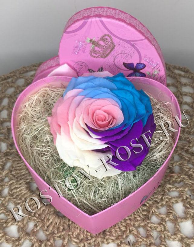 Розы стабилизированные - композиция Улыбнись