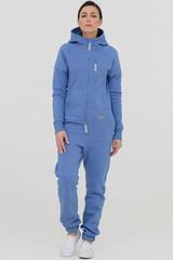"Комбинезон ""SpaceSuit"" женский голубой меланж с начесом"