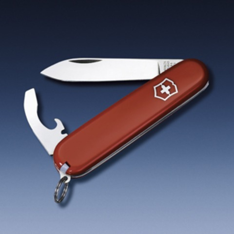 Нож Victorinox Bantam, 84 мм, 8 функций, красный