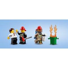 Конструктор LEGO City Fire Пожар в бургер-кафе 60214