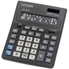 Калькулятор настольный CITIZEN Correct D-312, 12 разр, черн.