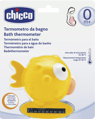 Chicco. Термометр для ванны Рыба-шар
