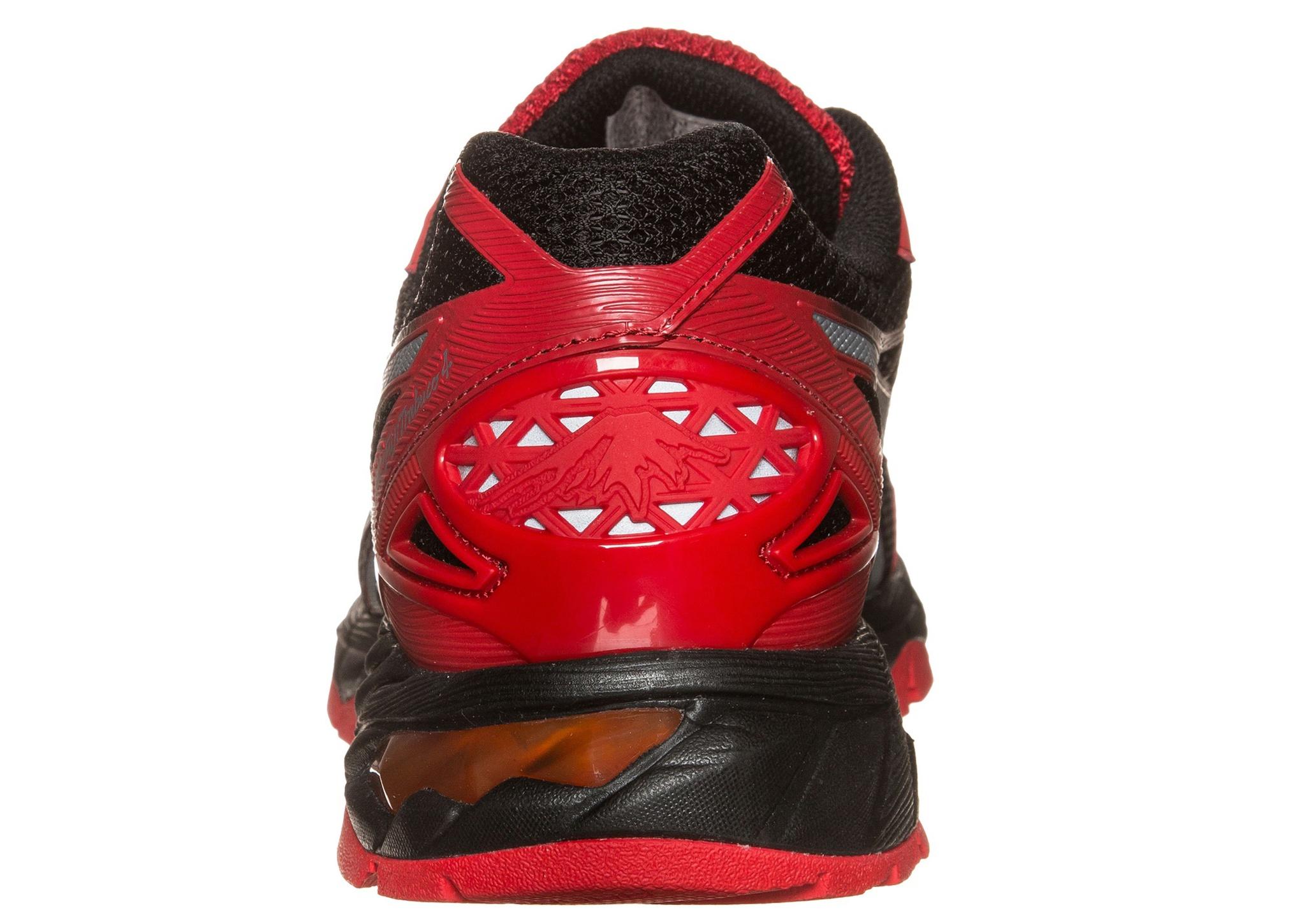 Мужские беговые внедорожники Asics Gel-Fujitrabuco 4 (T5L1N 2393) красные фото