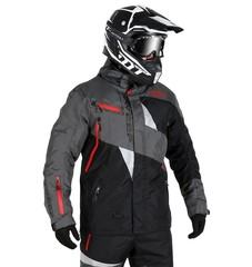 Куртка снегоходная - Sweep Snow Core - Black-Grey