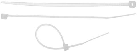 Хомуты-стяжки белые, 3.5 х 300 мм, 50 шт, нейлоновые, STAYER Professional
