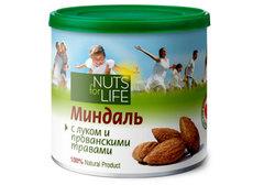 Миндаль с луком и прованскими травами Nuts for Life, 115г