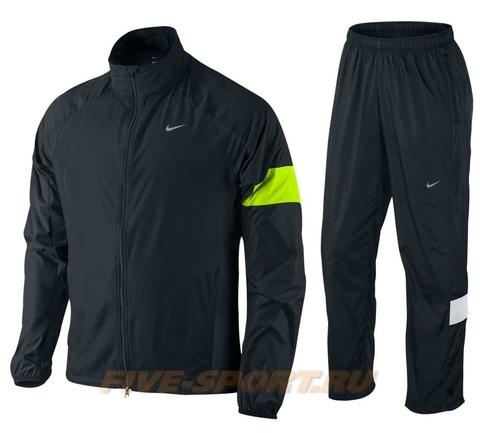 Спортивный костюм для бега мужской Nike Wind Fly white/yellow