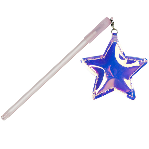 Ручка Star Pink черная гелевая