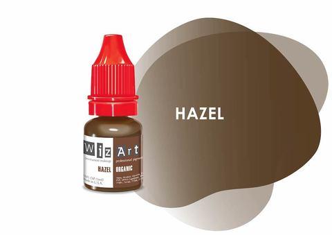Hazel (ореховый) • Wizart Organic • пигмент для бровей