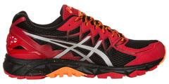 Мужские кроссовки внедорожники Asics Gel-Fujitrabuco 4 (T5L1N 2393) красные
