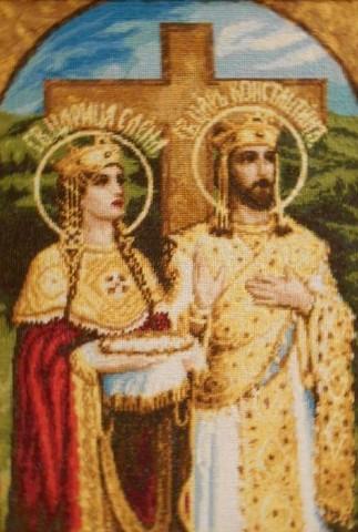 1111-11 Св. царь Константин и царица Елена