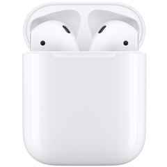 Зарядная док-станция Apple Wireless Charging Case for AirPods белый