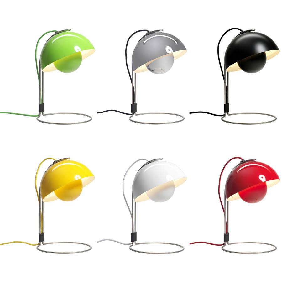 replica verner panton flowerpot vp4 table lamp buy in online shop price order online. Black Bedroom Furniture Sets. Home Design Ideas