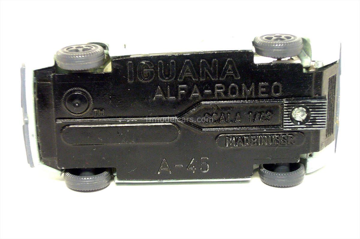 Alfa Romeo Iguana #A-45 USSR remake 1:43