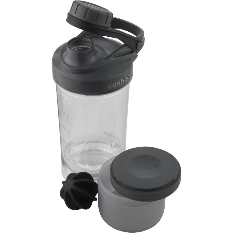 Фитнес-бутылка Contigo (0.65 литра) черная