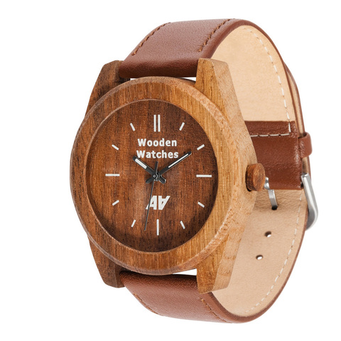 Часы из дерева AA Wooden Watches Терра Марк Орех