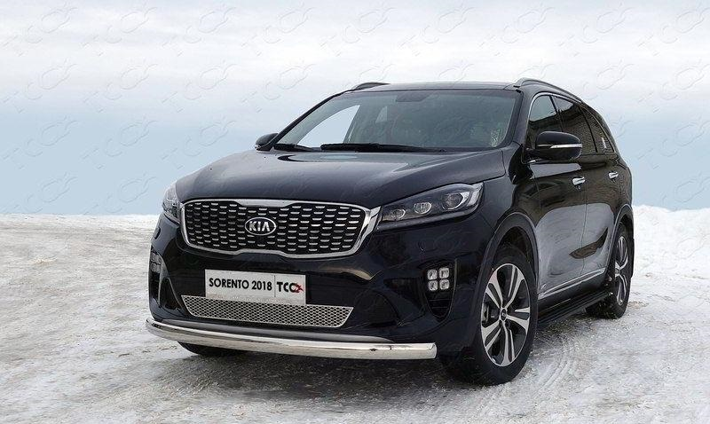Передняя защита TCC KIASORPR18-13 / KIASORPR18-12 / KIASORPR18-14 / KIASORPR18-15 для KIA Sorento Prime 2018 - 220mm new front brake disc disk rotor fit for kawasaki kx 85 00 01 02 03 04 05 06 07 08 09 10 11 12 13 14 15 kx100 05 15