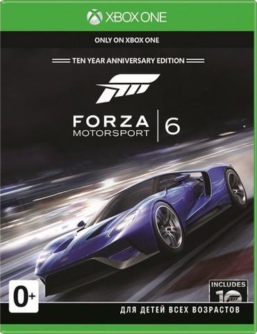 Xbox One Forza Motorsport 6 (русская версия)