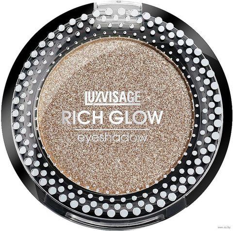 LuxVisage Тени компактные Rich Glow тон 07 space gold 2г