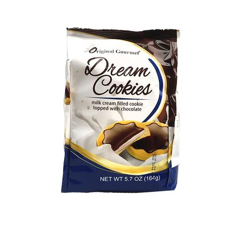 OG DREAM COOKIE печенье с мол. кремом покрытое мол. шоколадом 1кор*1бл*12шт  164гр.