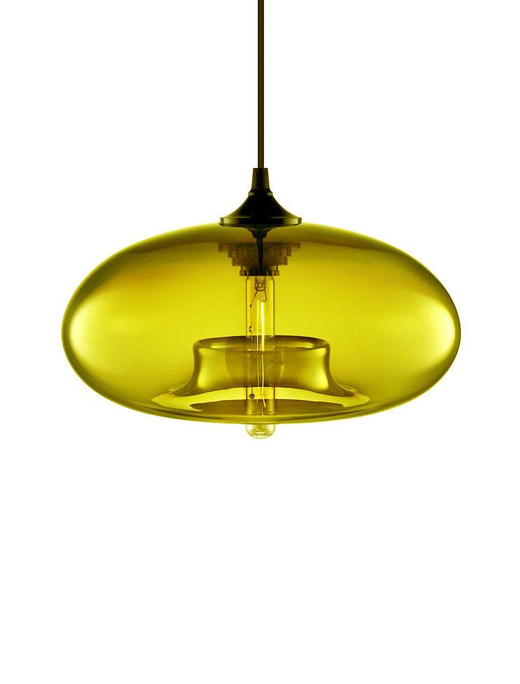 Replica Niche Modern Aurora Pendant Lamp Yellow