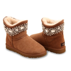 UGG & Jimmy Choo Crystal Chestnut