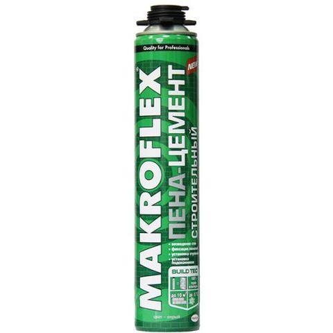 Монтажная пена-цемент строительная Makroflex Профи 850мл