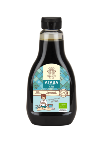 Organica for all Органический сироп агавы (660 г.)