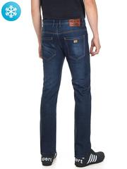 930 джинсы мужские утепленные, синие