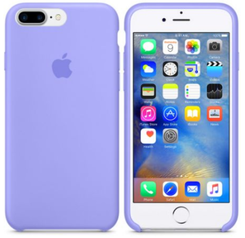 iPhone 7Plus/8Plus Silicone Case Фиалковый
