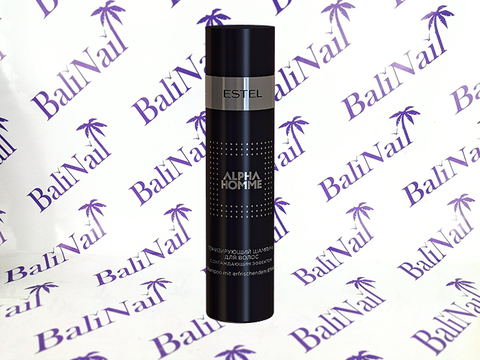 Тонизирующий шампунь для волос с охл. эффектом  ESTEL ALPHA HOMME, 250 мл.