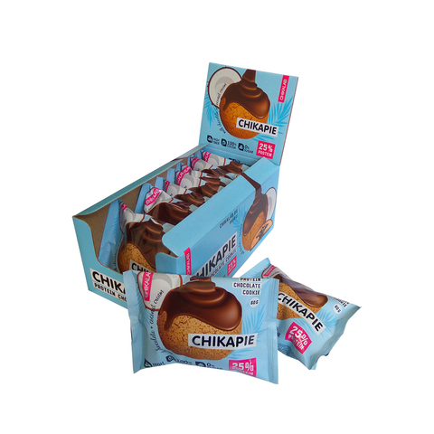 Протеиновое печенье Chikalab Кокос , 60 гр