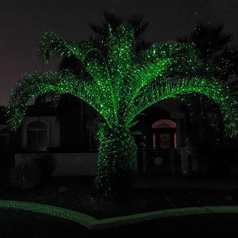 Уличная лазерная подсветка X-41P (Зеленая) (Kvimol)