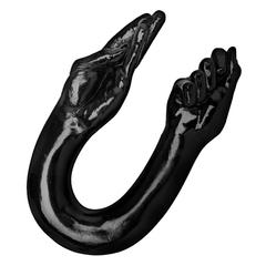 Двусторонний стимулятор в виде руки Dual ended fisting dildo - 66 см.