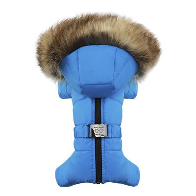 383 PA - Комбинезон-пуховик для собак