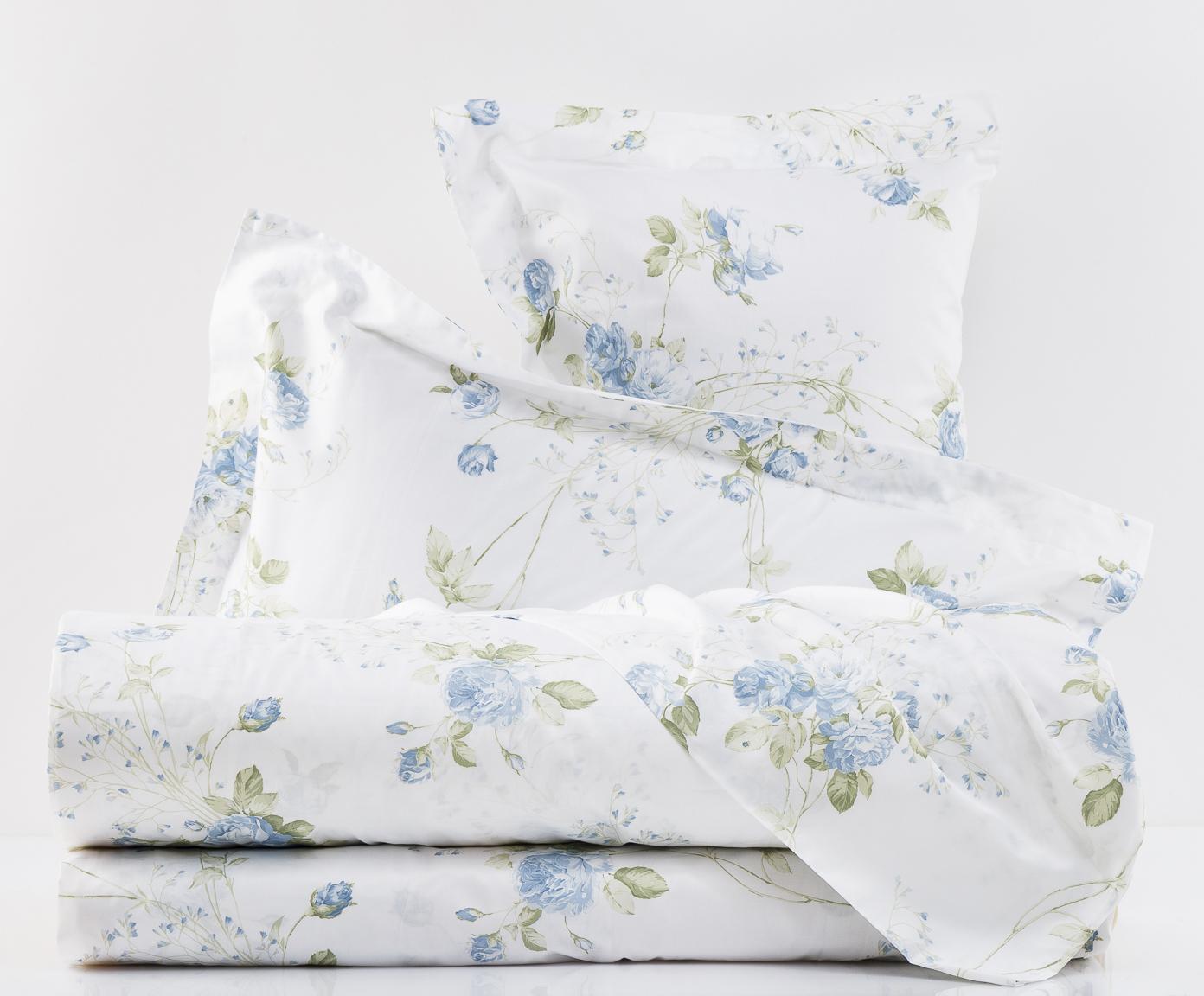 Постельное Постельное белье 2 спальное Mirabello Scented Rose голубое postelnoe-belie-mirabello-scented-rose-goluboe-italiya.jpg